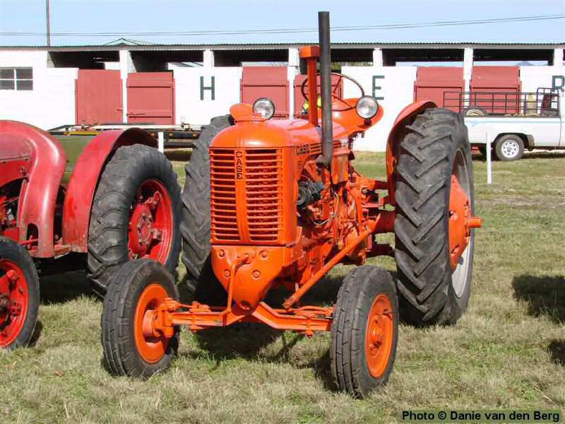 1952 Case Dc Tractor : Old case tractors pictures deer food plot plant